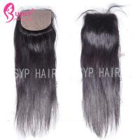 Quality Soft Smooth Virgin Hair Closures Silk Base Frontal Closure 100% Human Hair for sale