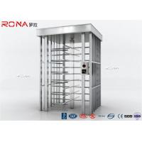 Quality Auto Security Full Height Turnstile Pedestrian System 30 Persons / Minute Speed for sale