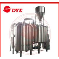Quality 500 Gal Steam All Grain Home Brewing Equipment With Whirlpool Tank for sale
