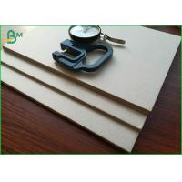 Buy cheap ISO 9001 Standard Laminated Grey Thick Paper Board 1200gsm For Packing Box from wholesalers