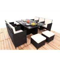 Buy cheap Promotion Rattan Furniture 11PCS Indoor / Outdoor Rattan Dining Sets Set With from wholesalers