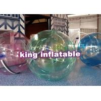 Quality Large Walking On Water Balls Inflatable Water Toys with Custom Logo Printed for sale