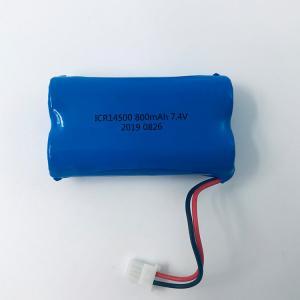 Quality LG Chem Lithium 7.4V 800mAh 18650 Lithium Ion Battery Pack for sale