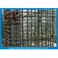 Quality 6Mm Welded Reinforcing Wire Mesh Square / Rectangle Hole Shape XLS-02 for sale