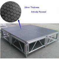 Quality 6082-T6 Anti-slip Waterproof Plywood Portable Stage For Concert for sale