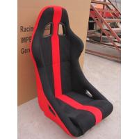 Quality JBR Universal Bucket Racing Seats Red And Black Bucket Seats Comfortable for sale