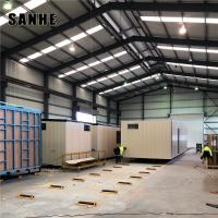 China prefab factory steel structure warehouse design on sale