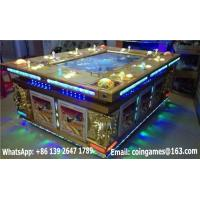 Quality 10 Players Arcade Coin Operated Hunter Shooting Fishing Cabinet Gambling Game Machine for sale