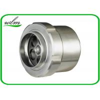 Quality Food Grade Sanitary Butt Weld Check Valve Scientific Connection Design For Industrial for sale