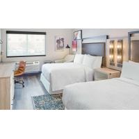 Quality American Style Laminate Oak Wood Luxury Hotel Bedroom Furniture For Four Point Sheration Hotel for sale