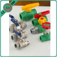 Quality Size 20 - 32 Mm PPR Ball Valve , Pn25 Female Thread Brass Ball Valve With Union for sale