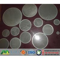 Quality Wire Mesh Discs, Metal Mesh Discs, Wire Mesh filters for sale
