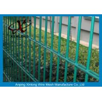 Quality Double Green Pvc Coated Wire Mesh Fencing For Country Border XLS-05 for sale