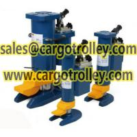 Buy cheap Hydraulic toe jack with dual applications jack from wholesalers