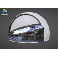 Quality Shopping Mall Full Dome Projection Cinema With 14 Chairs Large Capacity 96 People / H for sale
