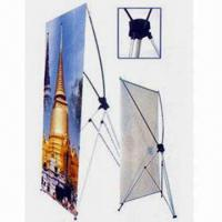 Buy cheap X-frame and L-frame Banner Stands, Exhibition Equipment, Display Stand from wholesalers