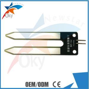 China Soil Moisture Sensor Soil Hygrometer Detection Module Arduino Of 2 Needle on sale
