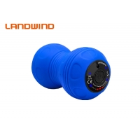 Quality Blue 3 Speed Fascia Relaxation Double Ball Back Roller for sale