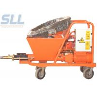 Quality Wall Wet Mortar Gun Cement Plastering Machine Mortar Spraying Plastering Tool for sale