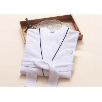 Quality Environment Friendly Dying Luxury Bath Robes , Terry Towelling Dressing Gown for sale