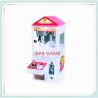 Quality Wall built-up mini toy crane kids claw candy arcade amusement game machine for sale