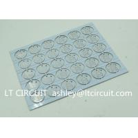 Quality Round LED High Thermal Conductivity PCB Aluminum Based Single Layer for sale