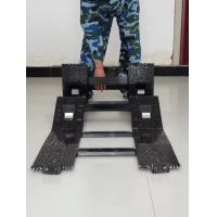 Quality Electrophoretic Surface Coating Folding Tactical Ladder Special Hard Aluminum Alloy for sale