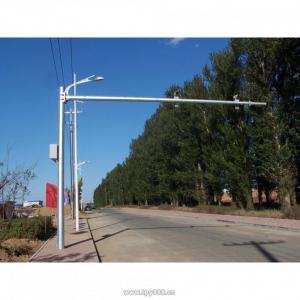 Quality Custom Traffic CCTV Camera Pole , Monitoring CCTV Posts CMOS Sensor for sale
