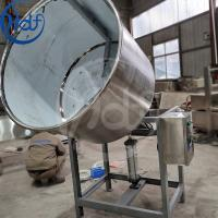 Buy Nuts Snack Automatic Food Processing Machines Fishskin Peanut Coating Processing at wholesale prices