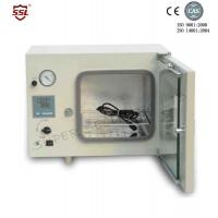 Quality White Small Bench Top Vacuum Drying Oven For Agriculture , 500W 20L for sale