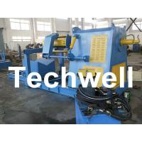 Quality Active Uncoiling / 10 Ton Hydraulic Decoiler Curving Machine With Coil Car TW-DECOILER for sale