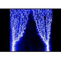 Quality Party LED Curtain Lights High Brightness Strings Connectable Waterproof 5 * 1M for sale
