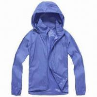 Quality Men's Windbreaker Jacket with Breathable Feature for sale