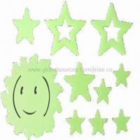 Quality Glow-in-dark Stickers for Baby Bedroom Decoration, Customized Designs are Accepted for sale