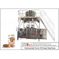 Buy cheap Doypack Premade Pouch Packaging Machine With Multi Head Scale And Metal Detector from wholesalers