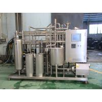 Quality Industrial Yoghurt  / Ice Cream Pasteurizer 10 T / H With 52 M2 Heat Exchanging Area for sale