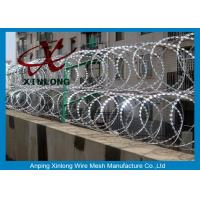 Quality Hot-Dipped Galvanized Razor Barbed Wire with BTO-11 BTO-22 / Bazor Barbed for sale