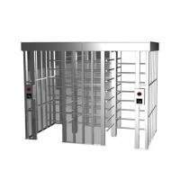 Buy Subway Full Height Turnstile Barrier Gate 35 Persons / Min RS485 One - Way Direction at wholesale prices