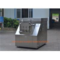Buy cheap High Efficiency UHT Plant Industrial Homogenizer , Homogenization Machine from wholesalers