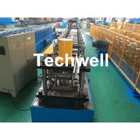 Quality GCr15 Steel Roller Guide Rail Cold Roll Forming Machine With Hydraulic Cutting for sale