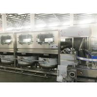 Quality Fully Automatic 5 gallon barrel /bottle washing filling capping machinery for sale