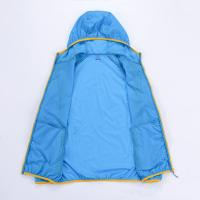 Buy Custom Couple Sunproof Chinlon Skin Clothes With Hood at wholesale prices