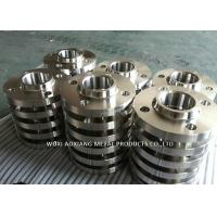 Quality ASTM 316 Mirror Finish Stainless Steel Pipe Flanges Multiple Color Customized Design for sale