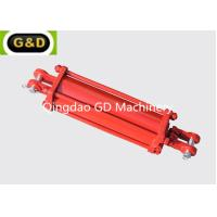 Buy cheap Double Acting 3000PSI Tie Rod Type Hydraulic Cylinder Used On Lawn Mowers from wholesalers