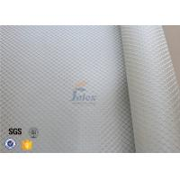 Quality 0.2MM Fire Resistant Silver Coated / Aluminized Coated Silver Coated Fabric for sale