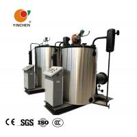 Quality 2 Ton Oil And Gas Fired Steam Boiler Once Through Water Tube Structure for sale
