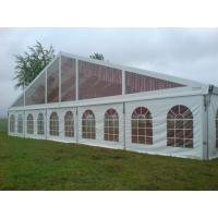Quality White PVC Sidewall European Style Tents Aluminum Alloy Structure Party Canopy for sale