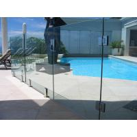 Quality Baby Guard Rail DIY Glass Pool Fencing With Tempered Glass Gate for sale