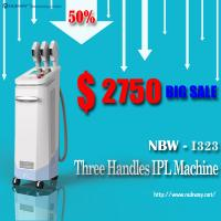 China Professional hair removal ipl machine with big spot on sale