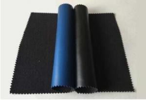 Quality Anti Static PU ESD Conductive elastic leather 0.8mm Thickness for sale